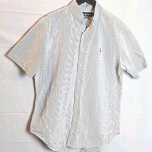 Ralph Lauren Classic fit bottom down blouse M
